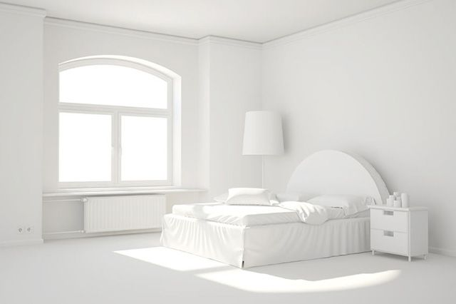 54 Amazing All White Bedroom Ideas The Sleep Judge All White Room All White Bedroom Small Room Girl