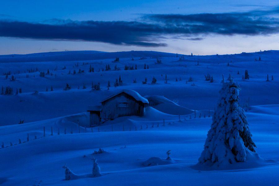 The Blue Hour by Jørn Allan Pedersen on 500px
