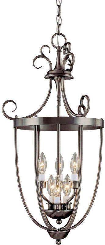 "Savoy House 3P201-6 Foyer 3 Light 17.75"" Wide Pendant Pewter Indoor Lighting Pendants"