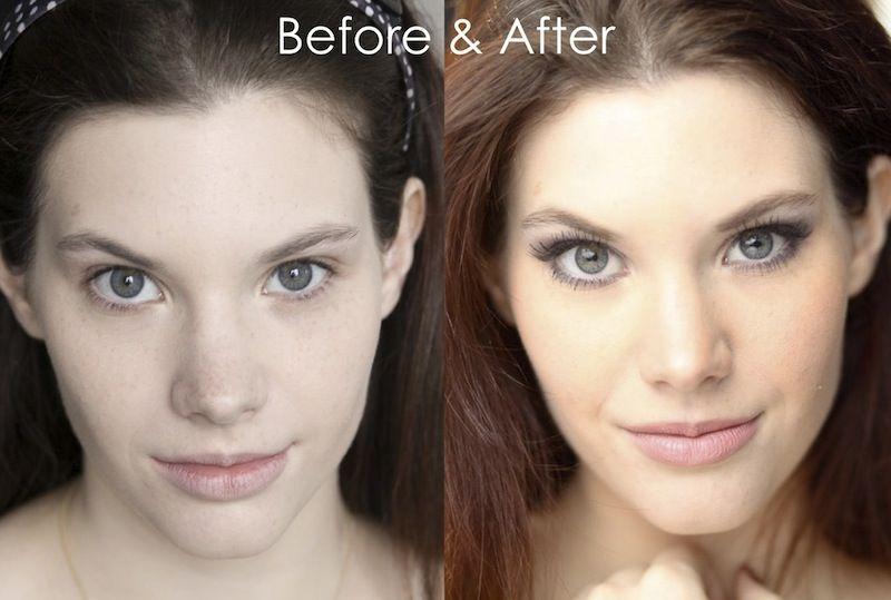 models before and after makeup wwwpixsharkcom images