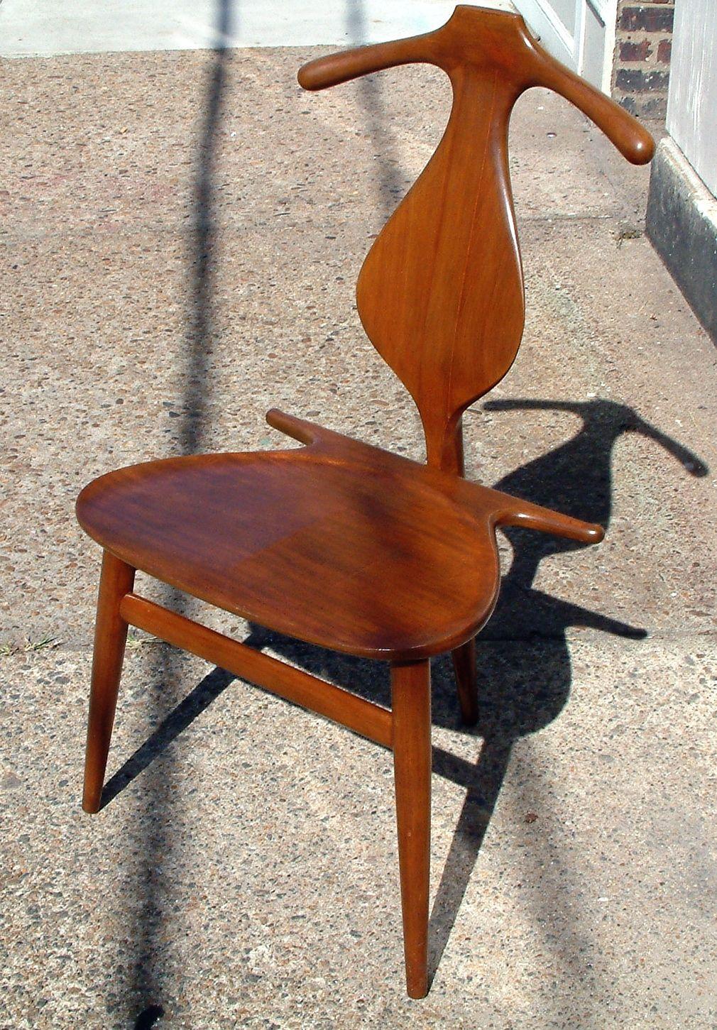 hans wegner valet chair sold hans wegner pinterest. Black Bedroom Furniture Sets. Home Design Ideas