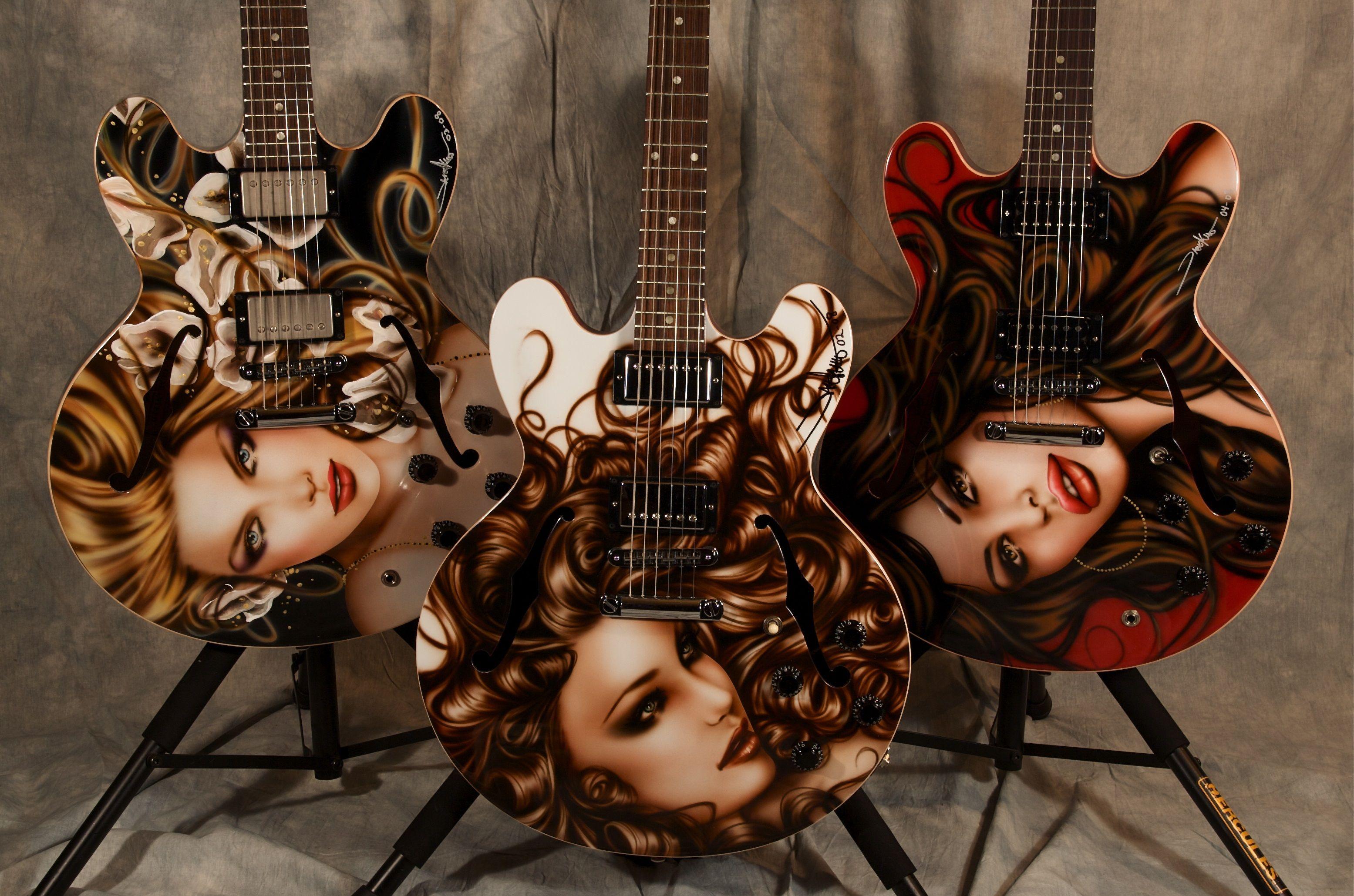 Three sisters Guitars
