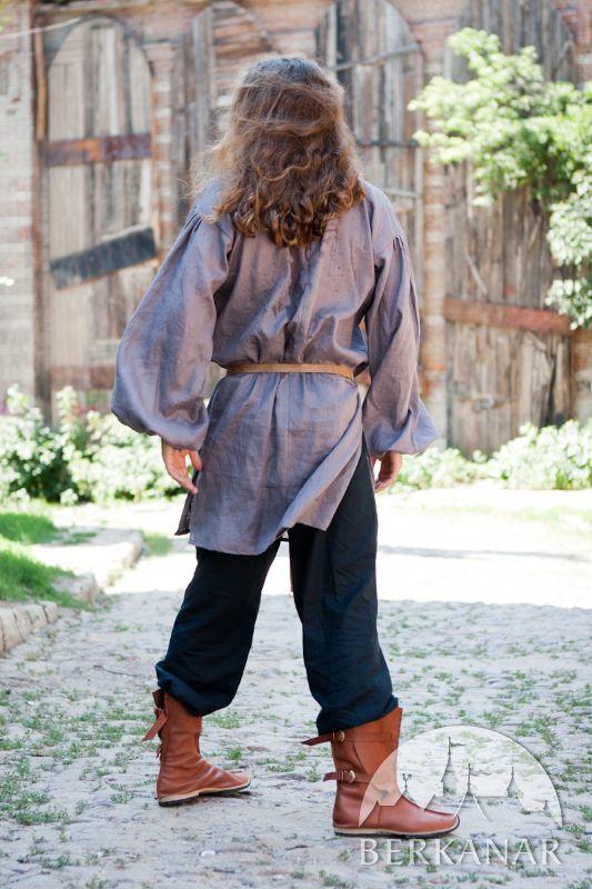 мужская одежда средневековья