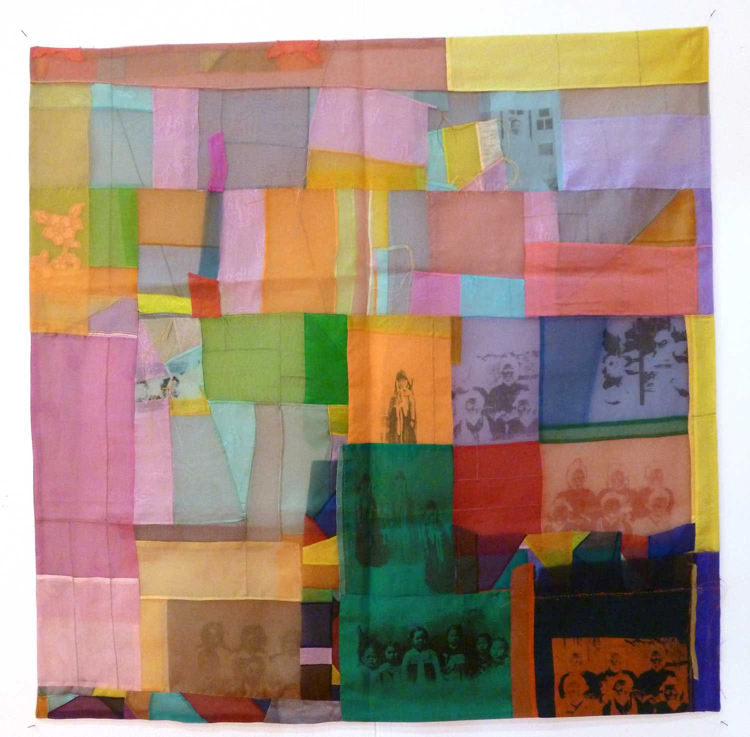Burnt Offerings: Textiles, textiles everywhere ...