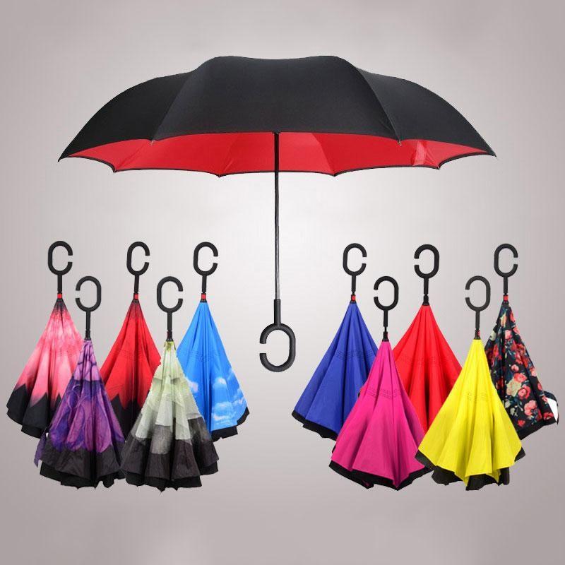 Custom Ladybugs Compact Travel Windproof Rainproof Foldable Umbrella