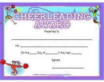 Image result for free printable cheerleading award certificate image result for free printable cheerleading award certificate templates yelopaper Gallery