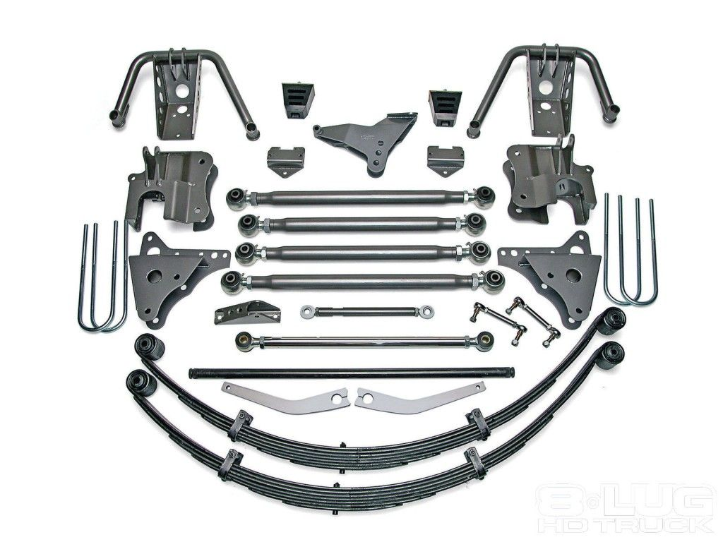 Full Traction 6 inch Super Duty 4-Link Coilover Conversion
