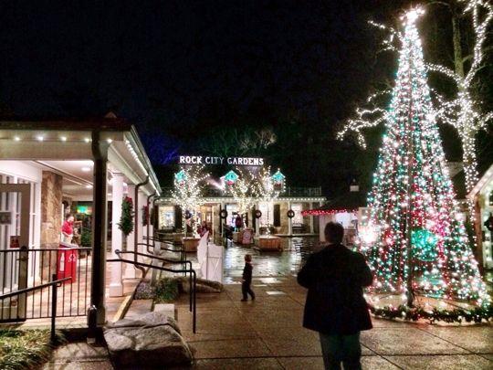 Rock Citys Annual Enchanted Garden of Lights East travel ideas