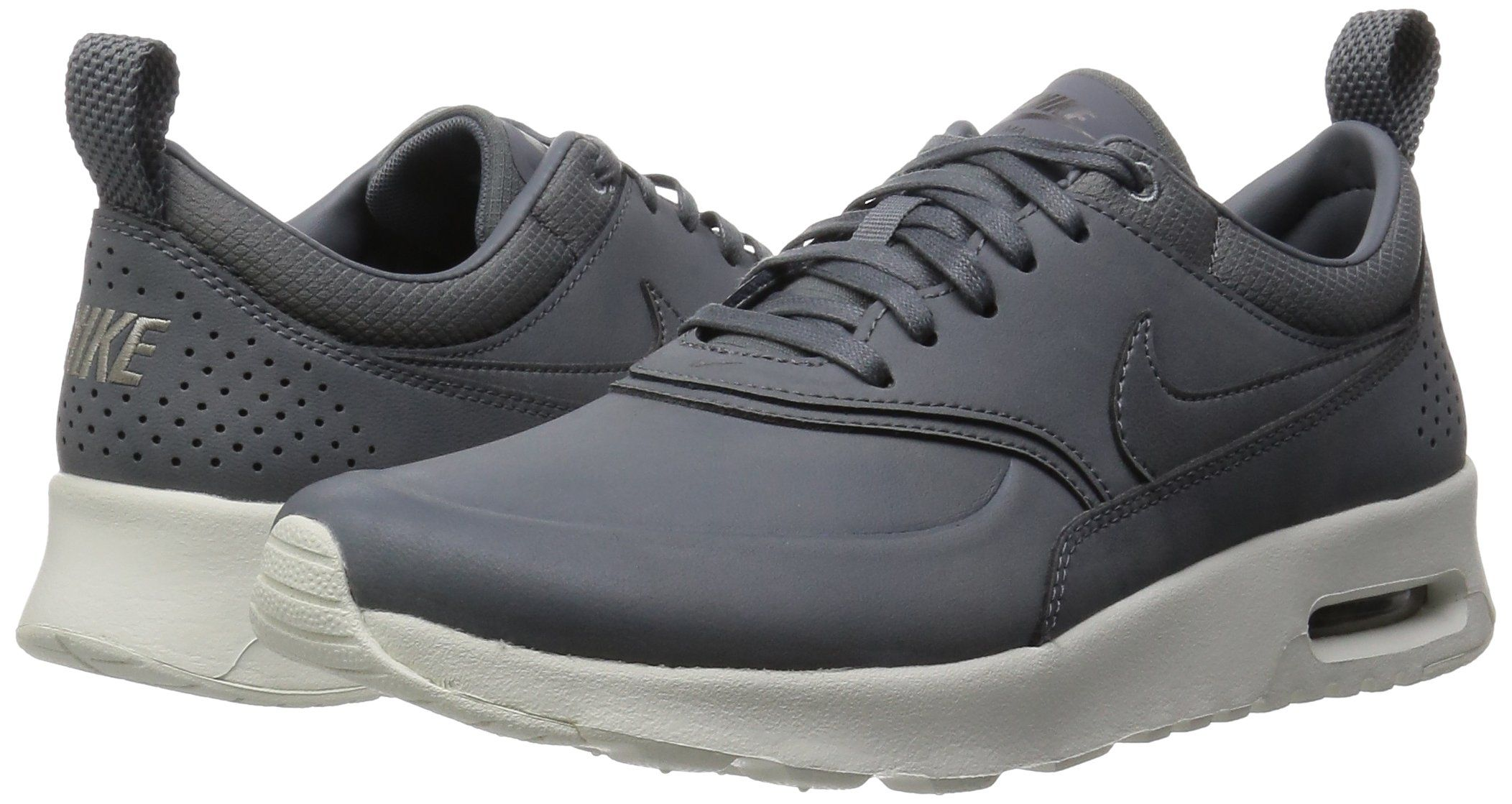 buy online 73aad dc593 Nike Air Max Thea Premium, Damen Sneakers, Grau (Cool GreyCool  Grey-Sail-Metalic Pwtr), 39 EU Amazon.de Schuhe  Handtaschen