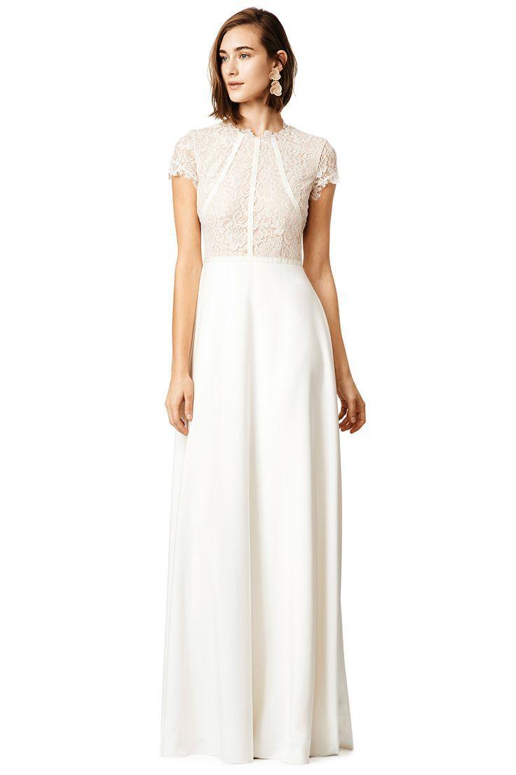 Tendance Robe du mariée 2017/2018 Beautiful ivory lace bodice ...