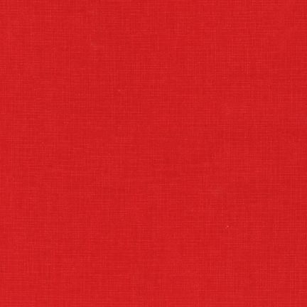 Quilter's Linen Red Fabric - Robert Kaufman