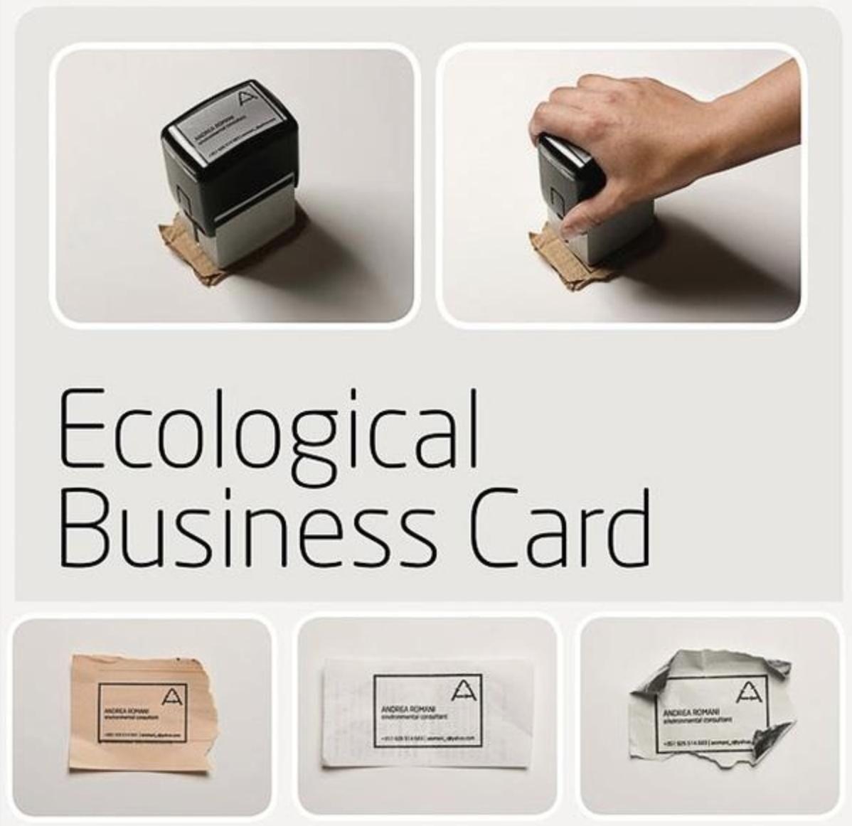eco-business cards