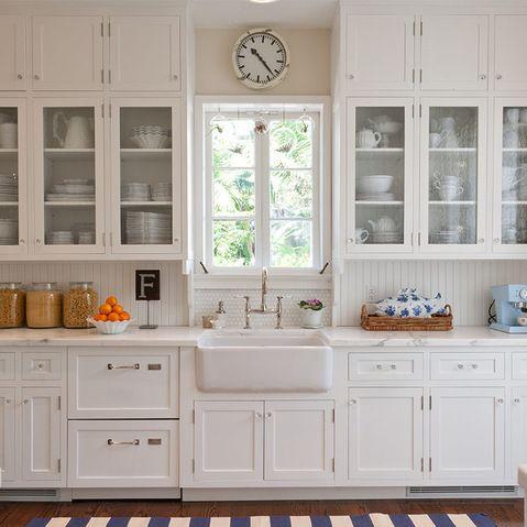 Beadboard Backsplash Design Ideas Pictures Remodel And Decor Beautiful Kitchen Cabinets Ikea Kitchen Design Glass Kitchen Cabinets