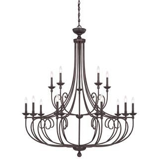 Check out the Savoy House 1-650-15 Langley 15 Light Chandelier  priced at $1,398.00 at Homeclick.com.