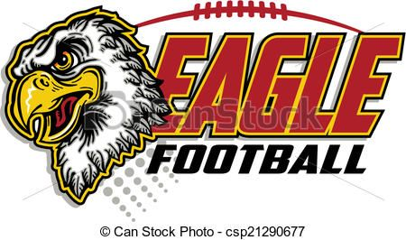 Vector Eagle Football Design Stock Illustration Royalty Free
