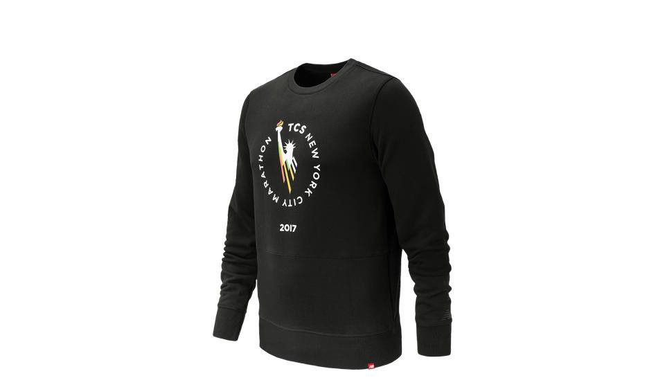 NEW BALANCE NYC Marathon Essentials Crew BL. #newbalance #cloth #
