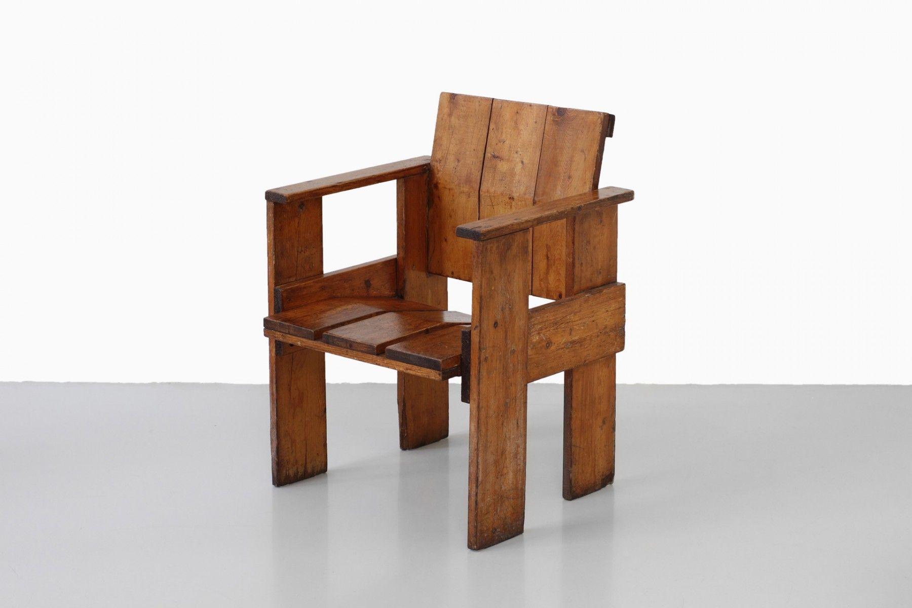 Gerrit Rietveld Kratstoel : Albatros chair by gerrit rietveld the exceptional bungalow and