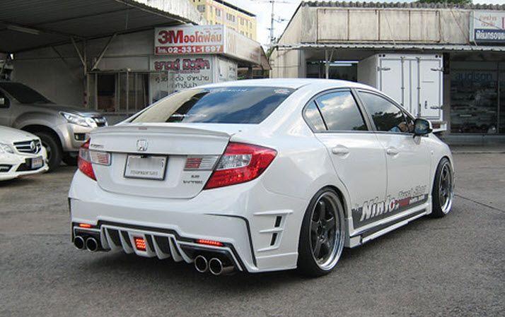 ชุดแต่ง Civic 2012   Honda, Custom cars