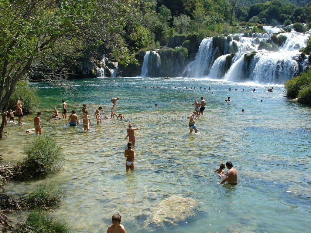 Omis Croatia Krka national park, Krka waterfalls