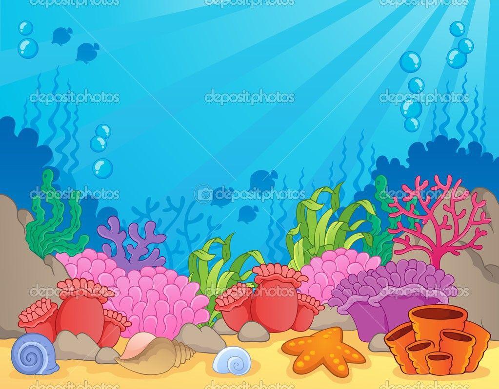 Excepcional Páginas Para Colorear De Los Arrecifes De Coral ...