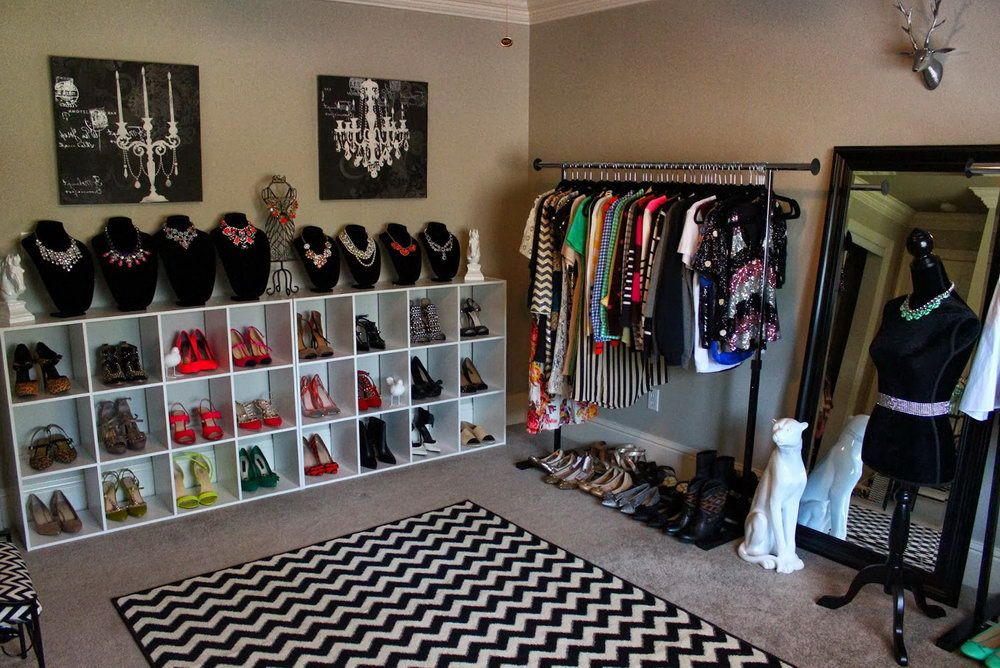 How to turn a bedroom into a closet on a budget for the - Turning a bedroom into a closet ideas ...