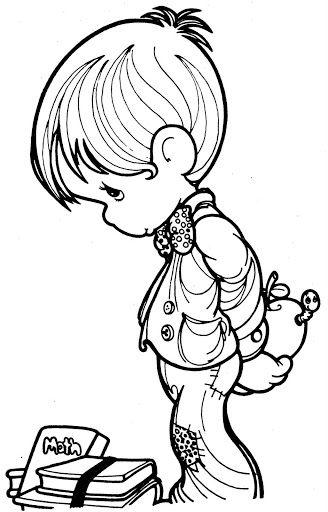 Pinto Dibujos: Dia del estudiante para colorear | kisfiúk, kislányok ...