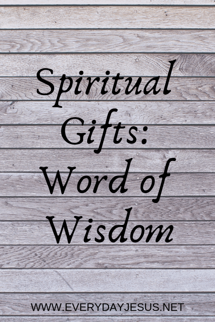 Click Image to Read or Listen to Spiritual Gifts: Words of Wisdom www.everydayjesus.net #podcast #jesus #quotes #holyspirit #holy #god #love #christ ...