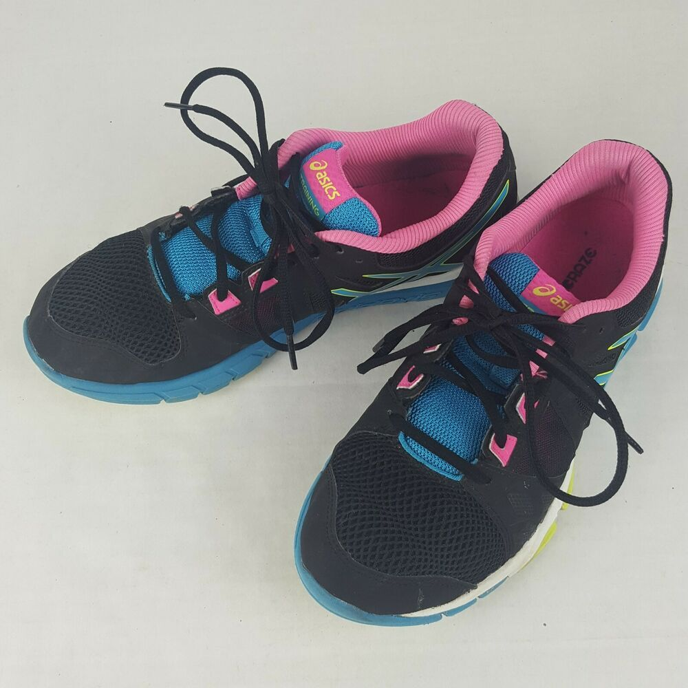 fe385a6e Advertisement)eBay- ASICS Women S653J Size 10 Navy Blue Pink Green ...