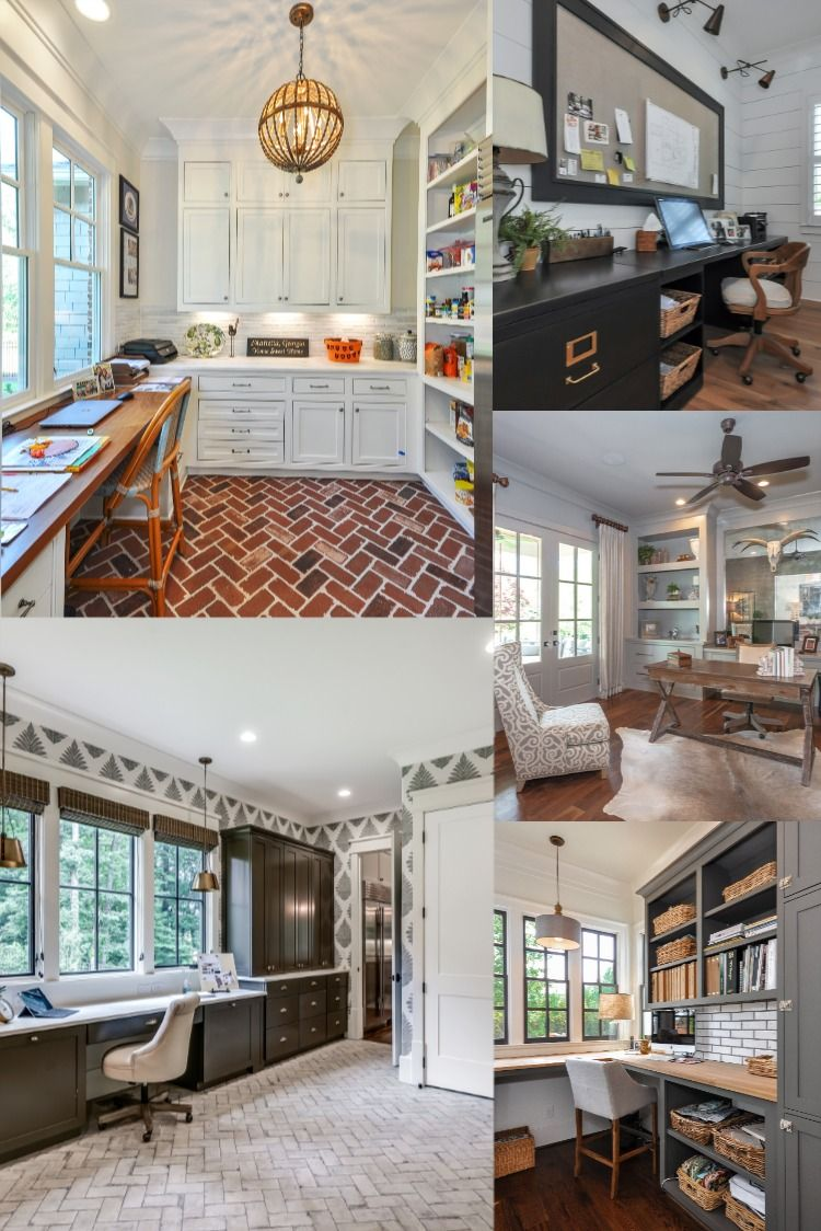 Are you working from home? 💻 A well designed and decorated office space can help boost your productivity and creativity! Take a look at some of our favorite office spaces for some design inspiration! 👍 . . . . #dreamhouse #homeinspiration #homeoffice #workfromhome #caldwellcline #southernliving #customhomes