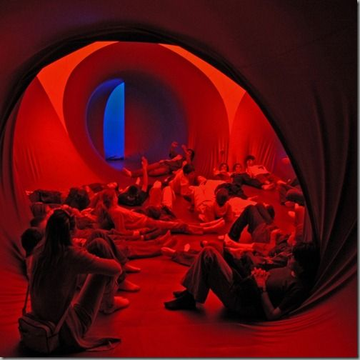 the luminaria invite visitors to a sensory experience of light