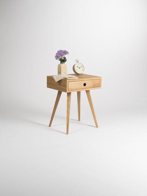 Am Ende Mitte Jahrhundert Modern Nachttisch Bett Tisch