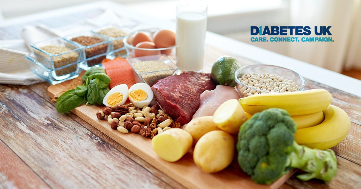 What is a balanced diet for Diabetes?