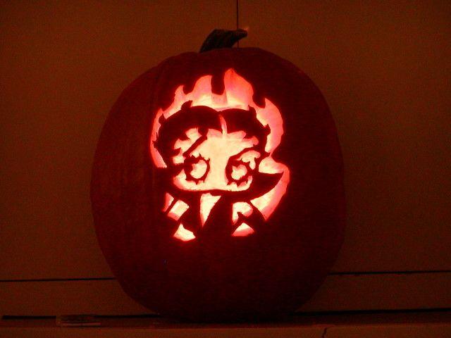 Betty Boop Pumpkin Carving Halloween Horror Ideas Live