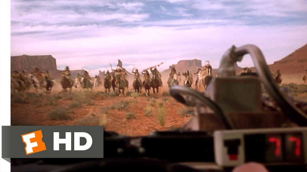 Back To The Future Part 3 1 10 Movie Clip Indians In 1885