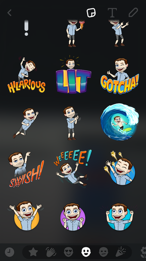 How To Create And Add Your Bitmoji Snapchat Snaps Stories