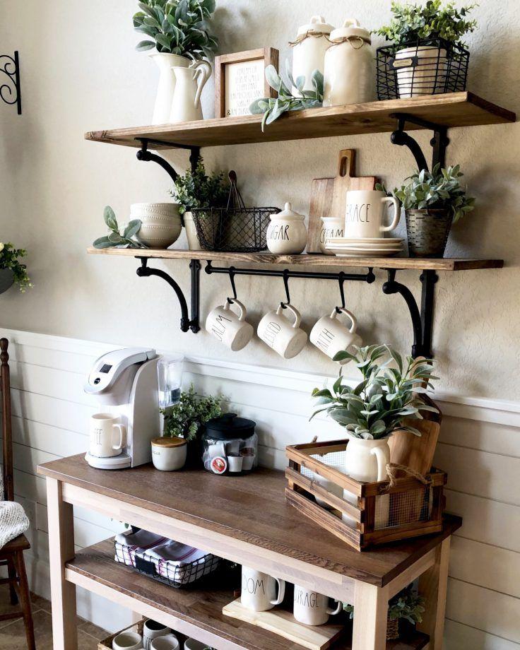 Coin café dans la cuisine : 15 inspirations pour aménager le vôtre