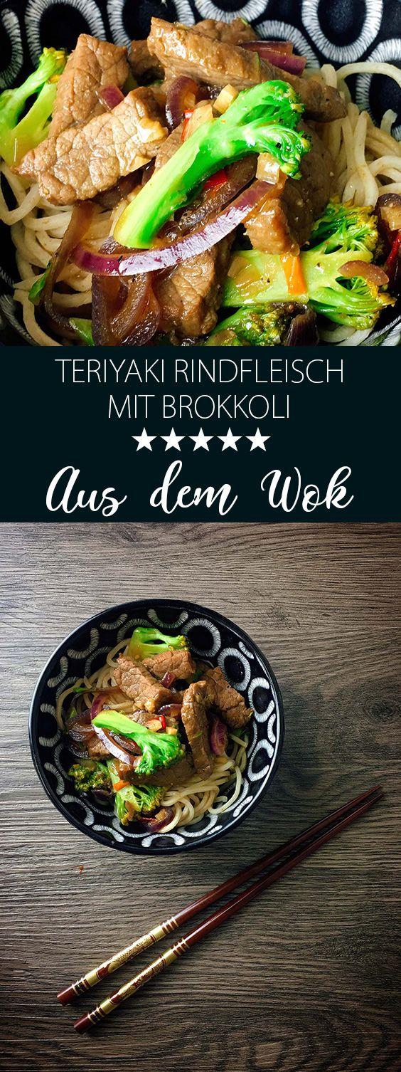 Photo of Teriyaki beef with broccoli recipe From the wok