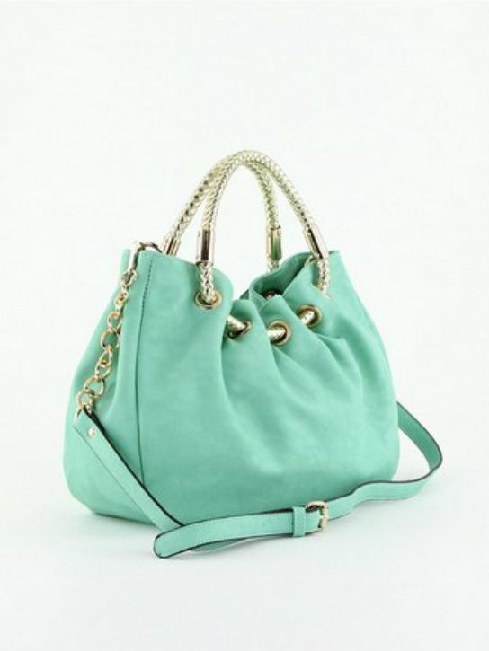 Aquamarine Hobo...love this bag and its color!