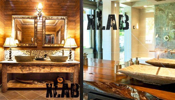 Mobile in legno massello per il bagno ecco modelli da sogno