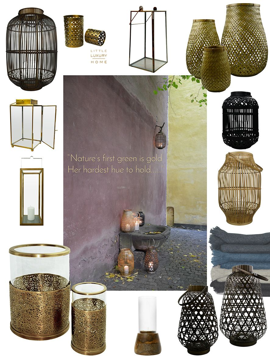 Fall is the season for lanterns, hurricanes and lights. We have a wide range of all of the above - shop online or at one our our selected retailers.  #littleluxuryhome #lanterns #hurricanes #lights #fall #winter #lightinthedark