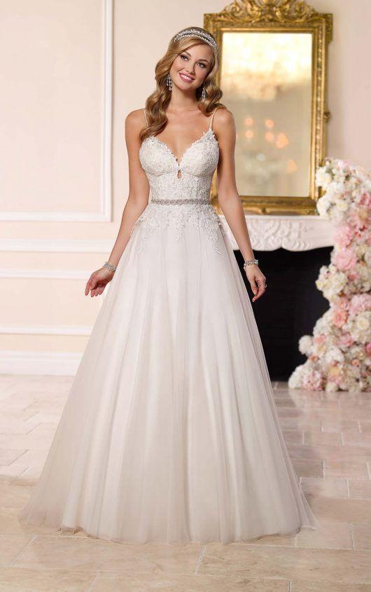 0d5f7355bc2 6237 A-Line Tulle Wedding Dress by Stella York