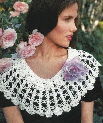 c0c9ec99f412 DE MIS MANOS TEJIDOS Y MAS  Para abrigarnos en este frió! Crochet collar  with diagram chart.