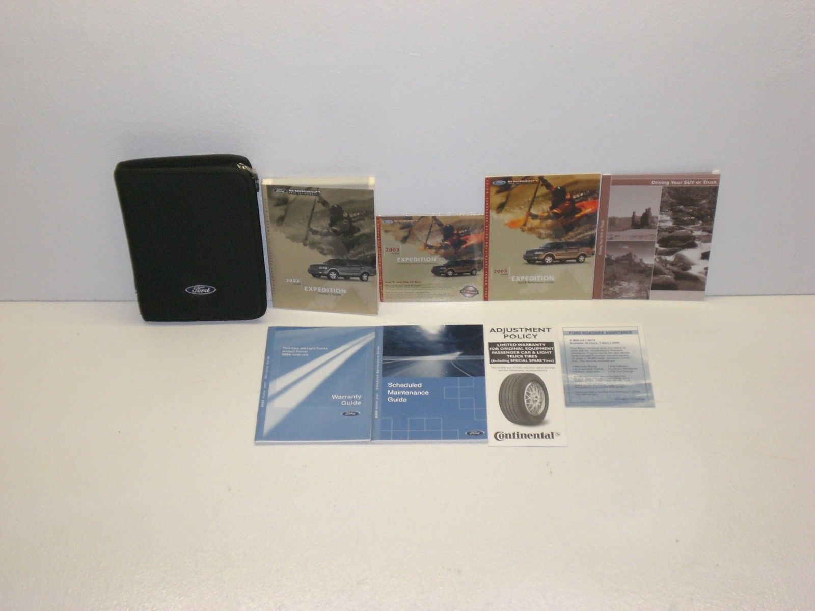 2003 ford expedition owners manual set w cd ebay link  [ 1600 x 1200 Pixel ]