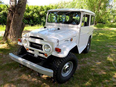 Toyota : Land Cruiser FJ40 FJ40, Barn Find Restoration 350 V8 Zircon White 90 Pics - http://usabarnfinds.com/toyota-land-cruiser-fj40-fj40-barn-find-restoration-350-v8-zircon-white-90-pics/
