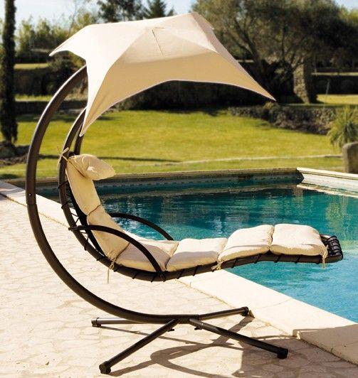 Ombrelle Celest Jardin Avec BeigeAu Fauteuil Suspendue Chaise gbfy6Y7
