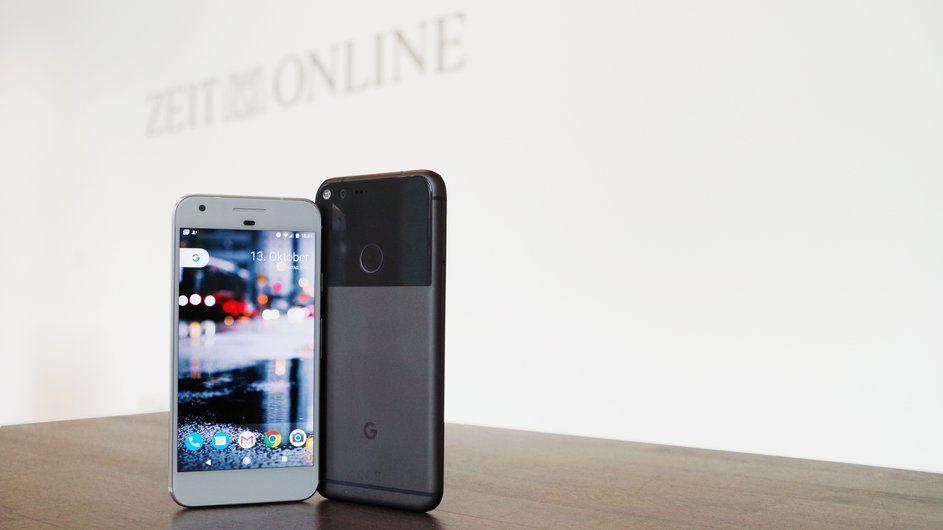 Pixel-Smartphone: Google Pixel und Pixel XL