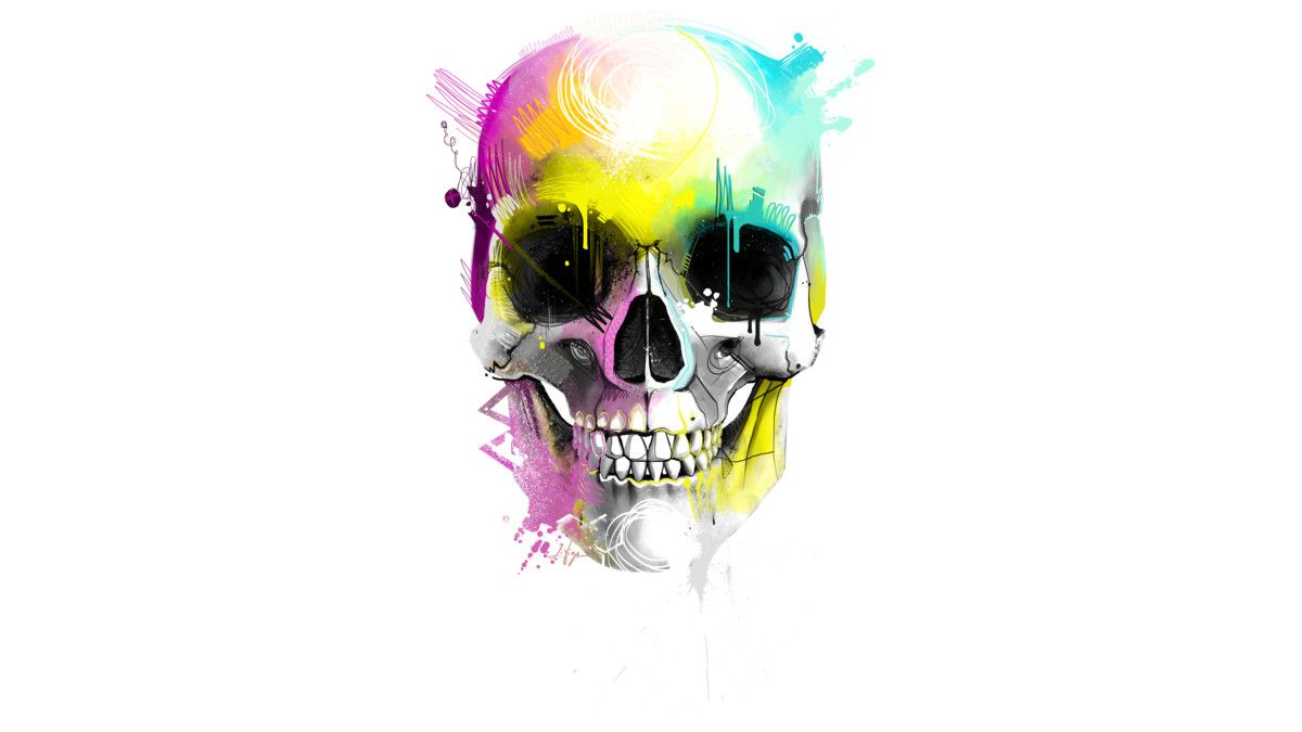 Nasty skull is a T Shirt designed by thomaslivigni to illustrate your life and is available at Design By Humans