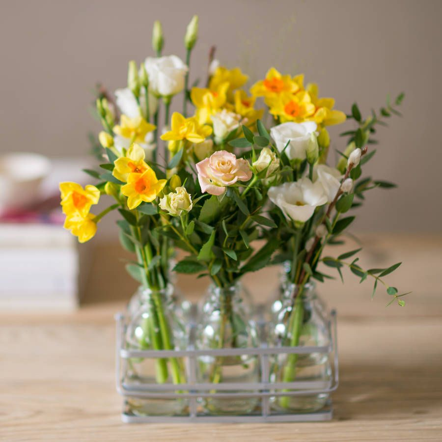 Buttercup Meadow Flower Bottles Say Hello To Spring With These