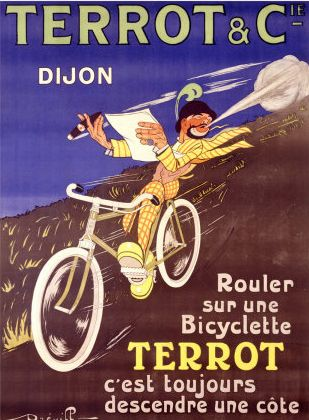 Publicidad Terrot. Dijon, Francia