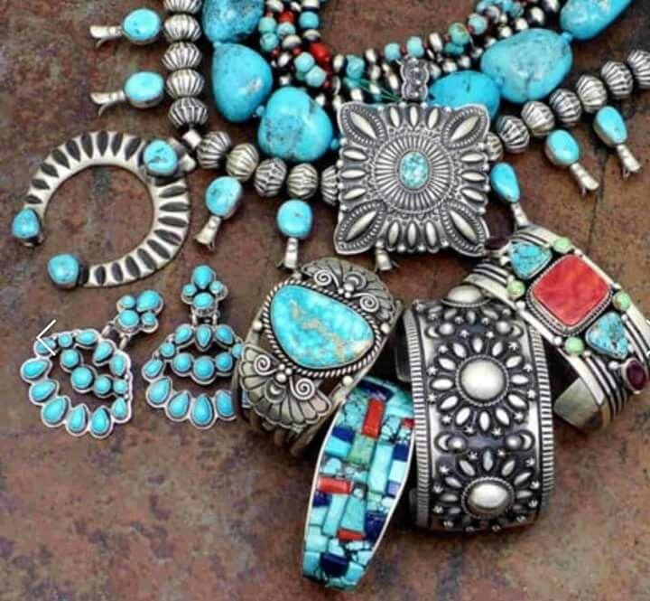 Native American jewellery Native indiginous turqouise jewellery